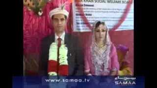 Eight Couples' Combined Wedding Ceremony In Gilgit.