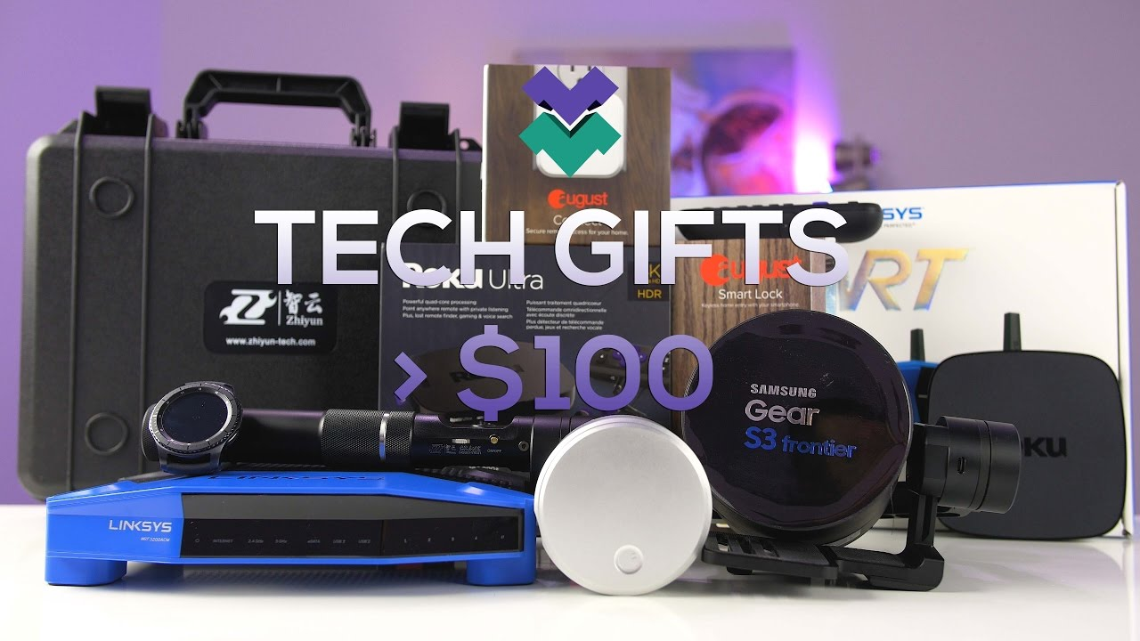 Cool Tech Gifts Over 100