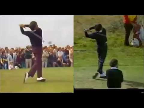 Seve Ballesteros victim of swing beautification