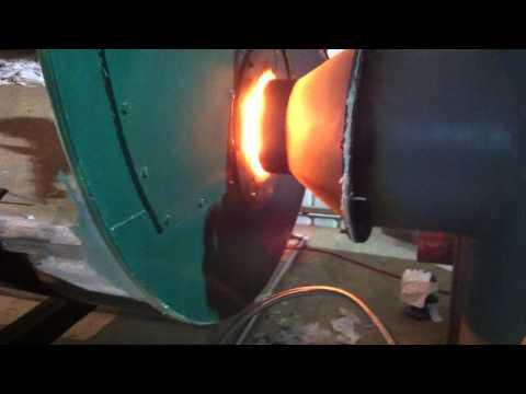 HQ-J 4.0 Sawdust Biomass Burner for industrial heavy oil boiler, gas boiler, 4ton steam boiler