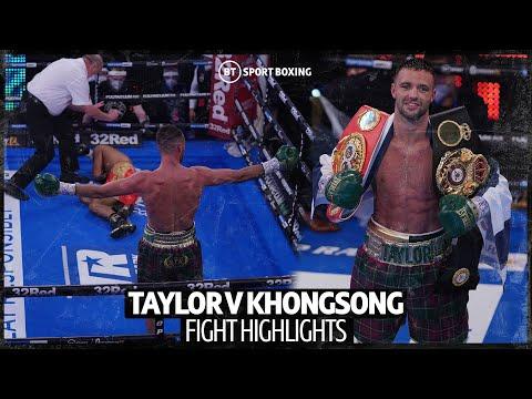 Josh Taylor vs. Apinun Hongsong / Джош Тейлор – Апинун Хонгсонг