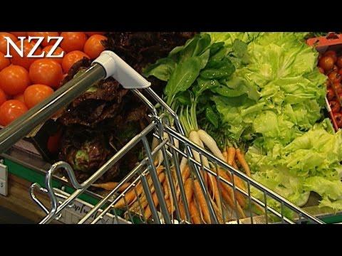Supermarkt: die umworbene