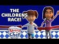 Shane the Chef - The Children's Race! | Let's Get Cooking!