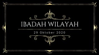 Ibadah Wilayah Pasamuan Darmo 29 Oktober 2020 #gkjwdarmo #darmoibadahwilayah