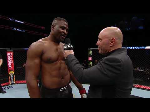 UFC 249: Фрэнсис Нганну - Слова после боя