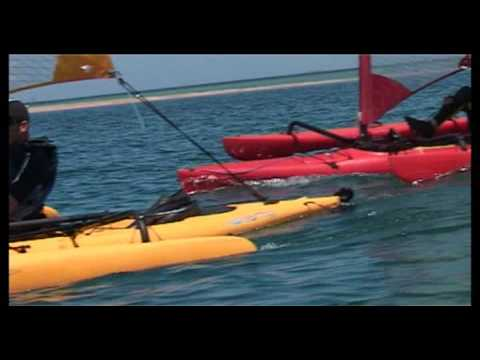 Hobie Adventure Island  Kayak Trimaran distribué par Hobie Cat Europe