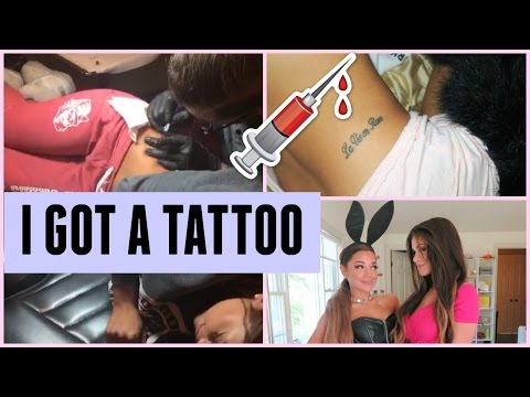 I GOT A TATTOO | All about it, Behind The Scenes of New Video, Haul, & more