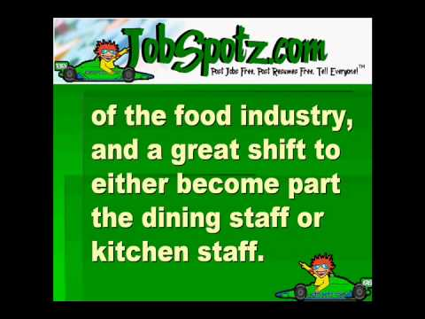 busboy job description jobspotz com post jobs free post resumes