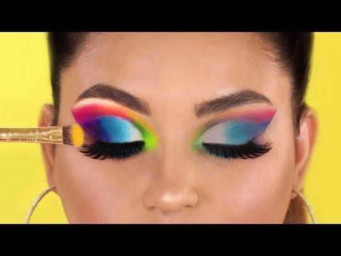 CÓMO APLICAR SOMBRAS CON MÁS COLOR Y PIGMENTO I Tutorial De Maquillaje Para Ojos