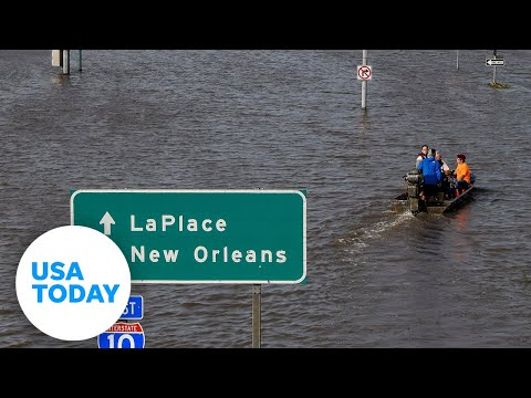 Before and after video shows parts of Louisiana hit by Hurricane Ida | USA TODAY
