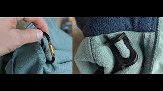 Packtech - Attach A Carabiner To Any Fabric Demo And Review