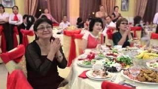 Свадебная песня жениха и невесты  Тау тау сезім  Казахская свадьба  Свадьба в Атырау  Азамат и Баян