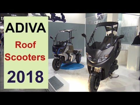 The ADIVA Roof Scooters 2018.!!!