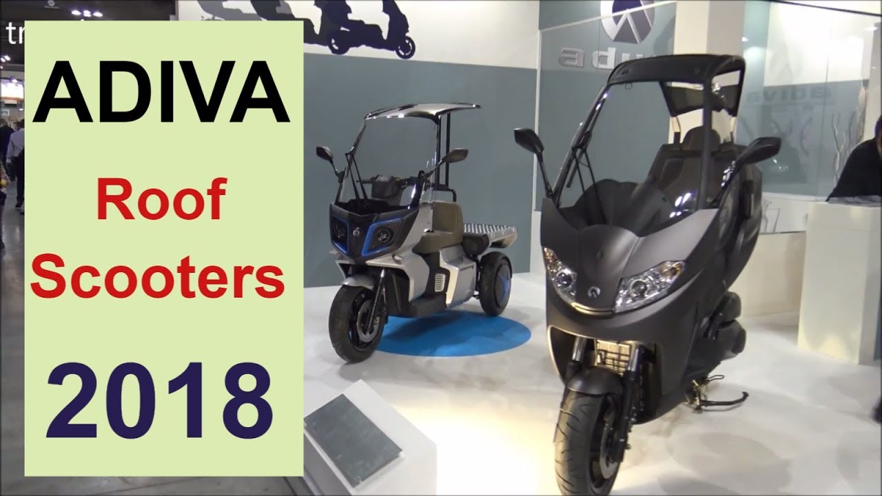 The Adiva Roof Scooters 2018 Youtube
