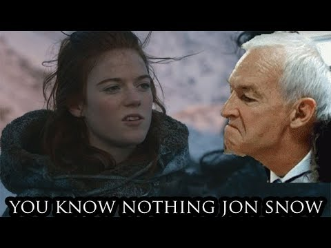 Jon Snow And The Huwhite Huwalkers