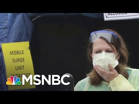 Coronavirus Cases Overwhelm New York City Hospitals   Deadline   MSNBC