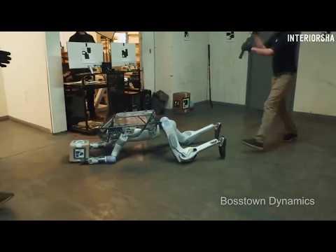 Ржачное видео с роботом (Bosstown Dynamics переозвучка пародия)