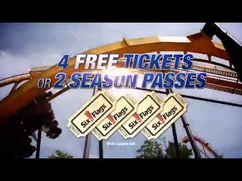Six Flags Ticket Giveaway at Cooper Chevrolet Buick in Anniston, AL