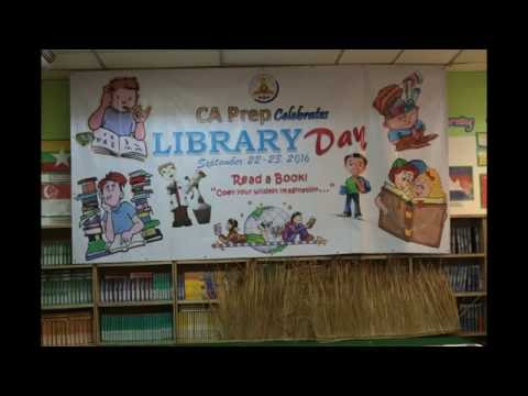 Library day @ California Prep International School, Sara Buri (22-23 Sep., 2016)