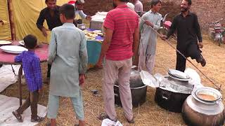 Gaon ki Shaadi I Punjab Village Shadi food recipes I Dehat ki Shadi   pure punjab village marriage