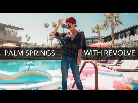 ROADTRIP TO PALM SPRINGS WITH DOYOUTRAVEL AND GYPSEA LUST (FOR REVOLVE FESTIVAL)