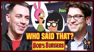 Who Said That Quote Game w BOB39S BURGERS Cast Interview at Paleyfest 2017  Shine On Media