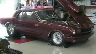 Swarr Auto mustang on the dyno