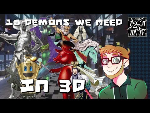 10 Demons We Need in 3D - SHIN MEGAMI TENSEI V ANNOUNCEMENT