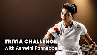 India's queen of badminton faces theFit Trivia Challenge.