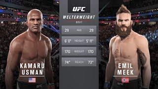 UFC Fight Night 124 Kamaru Usman Vs Emil Meek EA Sports UFC 2