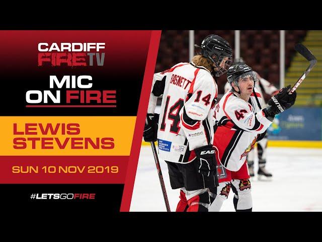 Mic on Fire: #43 Lewis Stevens 🎤🔥