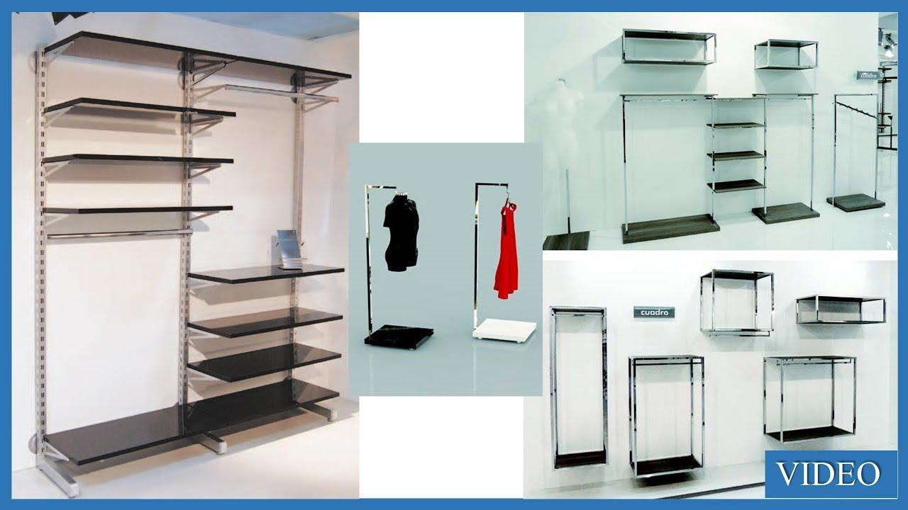 Arredamenti scaffali componibili per negozi abbigliamento Roma e ...