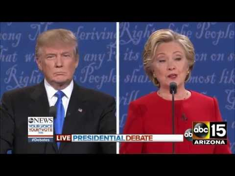 FULL Presidential Debate - Donald Trump vs. Hillary Clinton