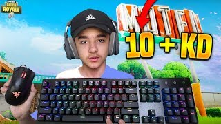 This 14 Year Old Kid Makes All PC Pro's Look Bad At Fortnite! (Brecci/10 + KD)