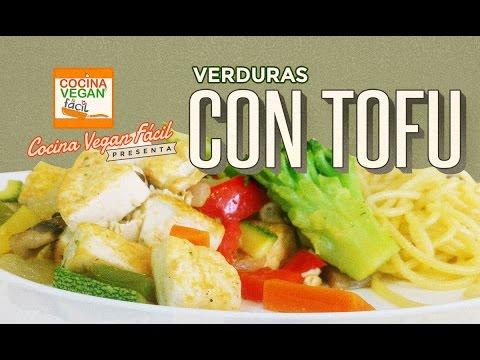 Verduras Con Tofu Cocina Vegan Facil Reeditado Youtube