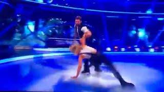 BIG CLUMSY Brian McFadden drop dance partner on Dancing on Ice