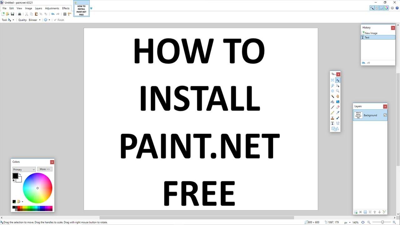 paint net download free windows 10