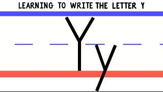 Write the Letter Y - ABC Writing for Kids - Alphabet Handwriting by 123ABCtv