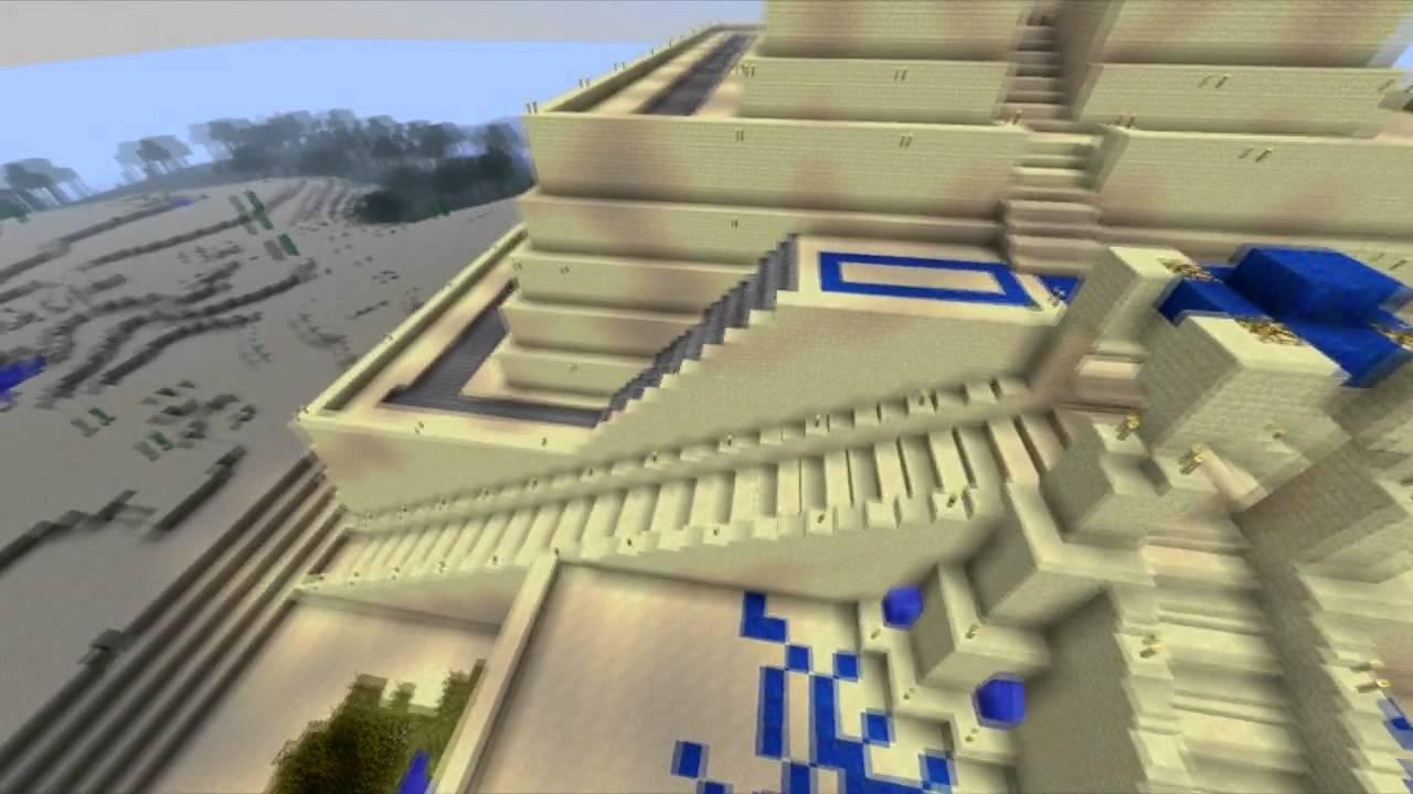 Minecraft Ziggurat Tour