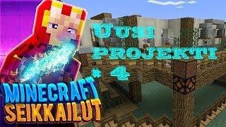 Minecraft pelaamista - Uusi projekti  - osa 4