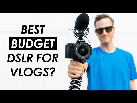 Best Budget DSLR for Vlogging? — Canon SL2 Vlog Test and Review