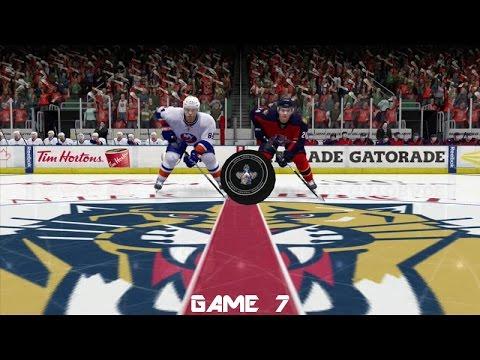 Islanders vs  Panthers Game 7! (2016 NHL Gaming Playoffs)