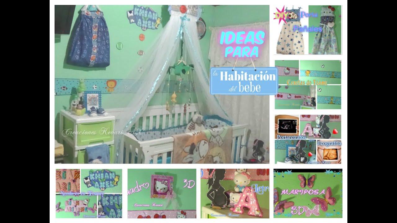 como decorar la habitacion de un bebe ideas economicas y practicas diy youtube
