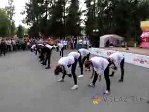 Видео: Флэшмоб в день рождения Майкла Джексона в Кемерове