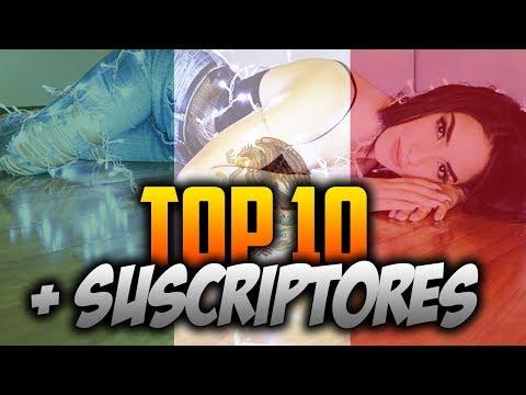 Top 10 youtubers con MÁS SUSCRIPTORES de México 2018