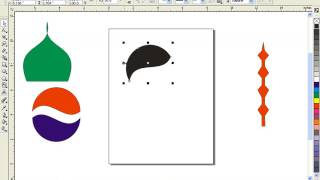 corel draw Best Video shape tool in urdu tutorials pepsi logo menar