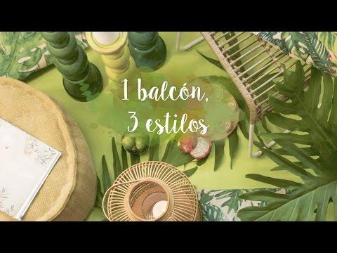 Trucos Para Decorar Tu Balcón Con Estilo Tropical Ideas Westwing