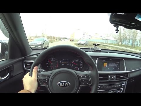 2017 Kia Optima 2.4 AT GT line POV Test Drive