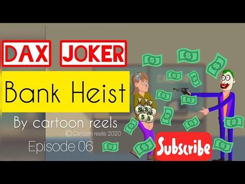 Bank Heist | Dax Joker Cartoon | Funny Robbery Fails | Episode06 | By Cartoon Reels