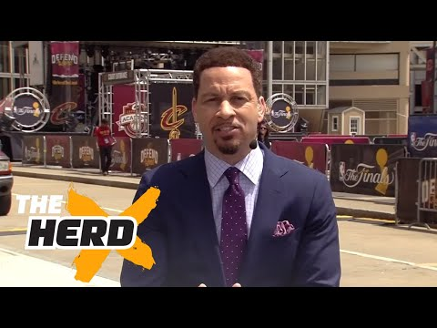 Chris Broussard on LeBron,Durant after Game 3 of 2017 NBA Finals | THE HERD